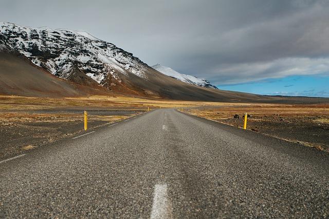 silnice a hory